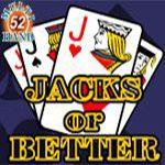 Jacks or Better (52 Hands)